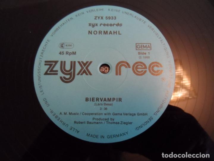 Discos de vinilo: NORMAHL - BIERVAMPIR - Foto 3 - 166819146