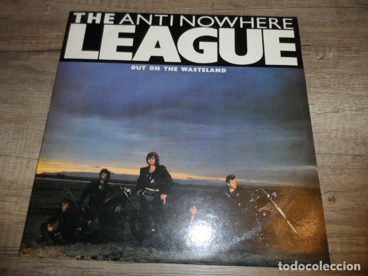THE ANTINOWHERE LEAGUE - OUT ON THE WASTELAND (Música - Discos - LP Vinilo - Punk - Hard Core)