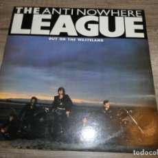 Discos de vinilo: THE ANTINOWHERE LEAGUE - OUT ON THE WASTELAND. Lote 166820150
