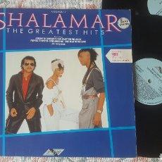Discos de vinilo: SHALAMAR THE GREATEST HITS DOBLE LP GATEFOLD. Lote 166830865