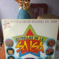 Discos de vinilo: VINILO ESTRELLAS DE LA SALSA. Lote 166834246