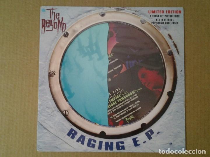 THE BEYOND -RAGING E.P.- EP PICTURE DISC 1991 HARVEST EMI 12HARPD 5301 MUY BUENAS CONDICIONES. (Música - Discos de Vinilo - EPs - Jazz, Jazz-Rock, Blues y R&B)