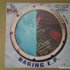Discos de vinilo: THE BEYOND -RAGING E.P.- EP PICTURE DISC 1991 HARVEST EMI 12HARPD 5301 MUY BUENAS CONDICIONES.. Lote 166835330