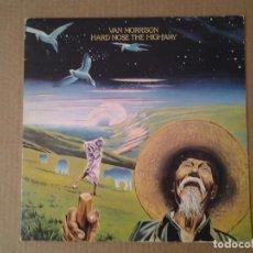 Discos de vinilo: VAN MORRISON -HARD NOSE THE HIGHWAY - LP WB RECORDS 1973 ED. ORIGINAL INGLESA K 46242 GATEFOLD MUY.. Lote 166837282