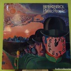 Discos de vinilo: LP BIRTH CONTROL – PLASTIC PEOPLE. Lote 166842038