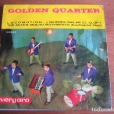 Discos de vinilo: GOLDEN QUARTER - LOCOMOTION + 3 ********* RARO EP 1963. Lote 166849750