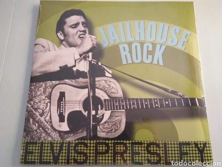 LP ÁLBUM VINILO ELVIS PRESLEY JAILHOUSE ROCK (Música - Discos - LP Vinilo - Rock & Roll)