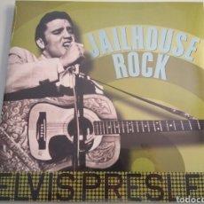 Discos de vinilo: LP ÁLBUM VINILO ELVIS PRESLEY JAILHOUSE ROCK. Lote 166852901