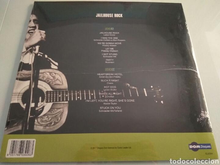 Discos de vinilo: LP álbum vinilo Elvis Presley Jailhouse Rock - Foto 2 - 166852901