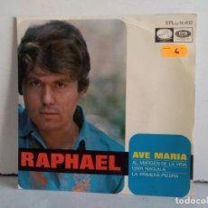 Discos de vinilo: RAPHAEL (AVE MARIA) . Lote 166862504