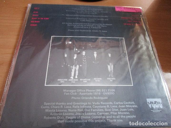 Discos de vinilo: AVALALANCH READY TO THE GLORY LP 1993 - Foto 2 - 166865572