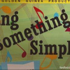 Discos de vinilo: LP THE ADAMS SINGERS SING SOMETHING SIMPLE GOLDEN GUINEA 1050 UK 1959. Lote 166868952