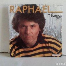 Discos de vinilo: RAPHAEL (Y FUIMOS DOS) . Lote 166874388