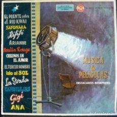 Discos de vinilo: MÚSICA DE PELÍCULAS // RCA // 1962 // (G G).LP. Lote 166877216