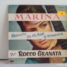 Discos de vinilo: MARINA POR ROCCO GRANATA . Lote 166883344