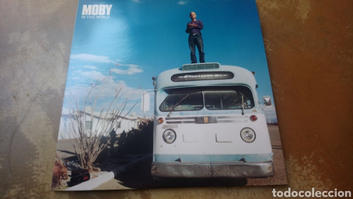 Discos de vinilo: moby in this World. Maxi vinilo 12. Perfecto estado. Nuevo - Foto 1 - 188698783