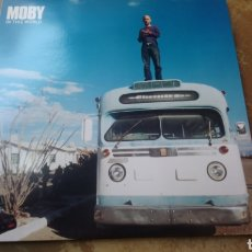 Discos de vinilo: MOBY IN THIS WORLD. MAXI VINILO 12. PERFECTO ESTADO - NUEVO. Lote 188698783