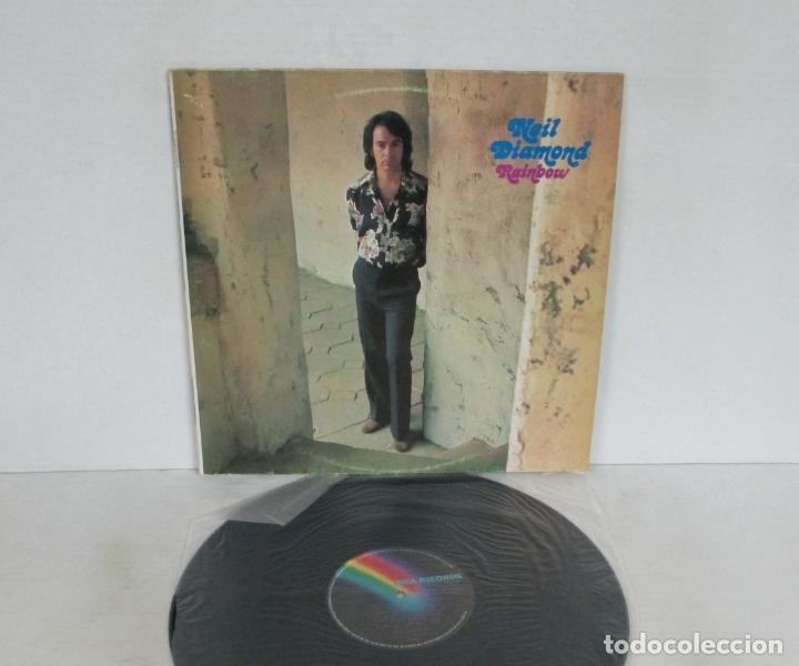 NEIL DIAMOND - RAINBOW - LP - MCA 1973 USA - VINILO N MINT (Música - Discos - LP Vinilo - Pop - Rock - Extranjero de los 70)