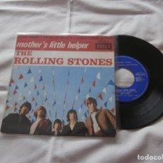 Discos de vinilo: THE ROLLING STONES 7´EP MOTHER´S LITTLE HELPER (4 TEMAS) -1965 EDICION ORIGINAL FRANCIA. Lote 166888176