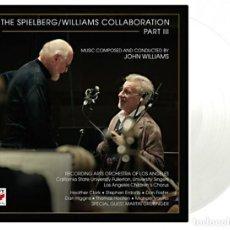 Discos de vinilo: JOHN WILLIAMS & STEVEN SPIELBERG - COLLABORATION PART III 180G VINILO TRANSPARENTE 2LP NUEVO. Lote 166889156