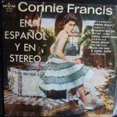 Discos de vinilo: CONNIE FRANCIS // CANTA EN ESPAÑOL Y EN STEREO // 1964 // (VG G).LP. Lote 166891600