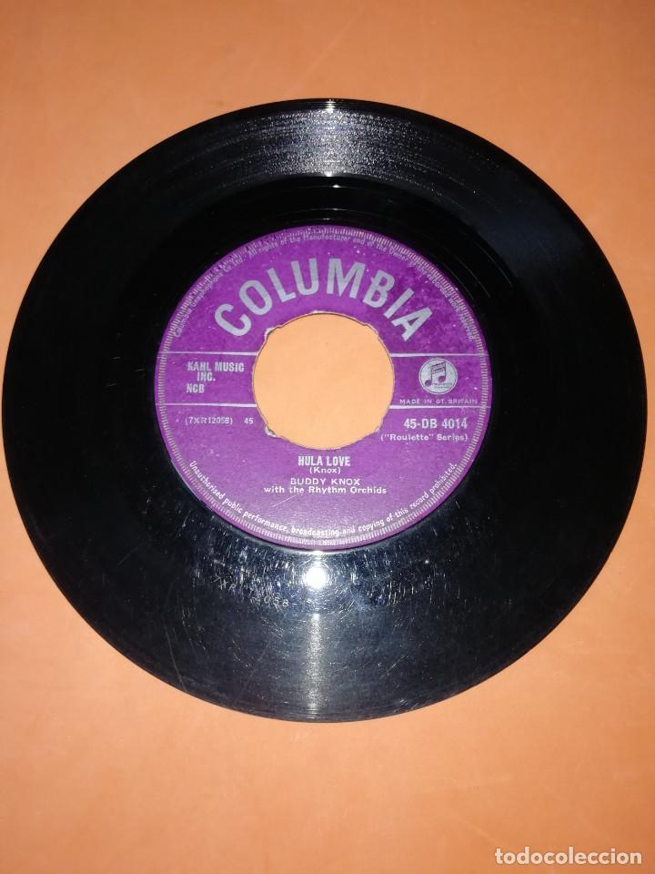 BUDDY KNOX. HULA LOVE & DEVIL WOMAN. 1957. COLUMBIA. RARO. (Música - Discos - Singles Vinilo - Pop - Rock Extranjero de los 50 y 60)
