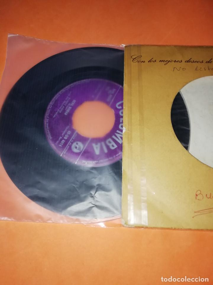 Discos de vinilo: BUDDY KNOX. HULA LOVE & DEVIL WOMAN. 1957. COLUMBIA. RARO. - Foto 5 - 166892328