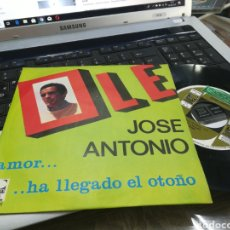 Discos de vinilo: JOSÉ ANTONIO SINGLE OLE 1967. Lote 166894285
