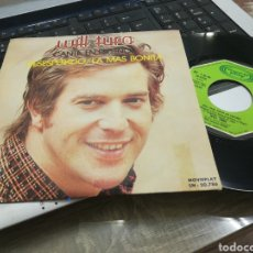 Discos de vinilo: WILL TURA SINGLE DESESPERADO ESPAÑA 1973. Lote 166903498