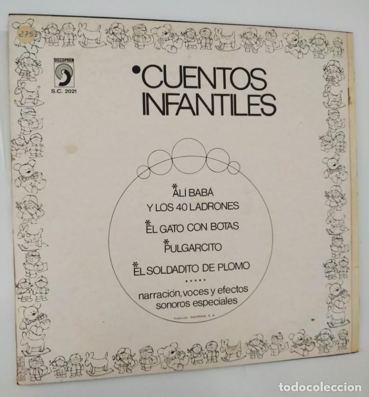 Discos de vinilo: CUENTOS INFANTILES - ALI BA BA / DISCOPHON 1967 / BUEN ESTADO - Foto 2 - 166903768