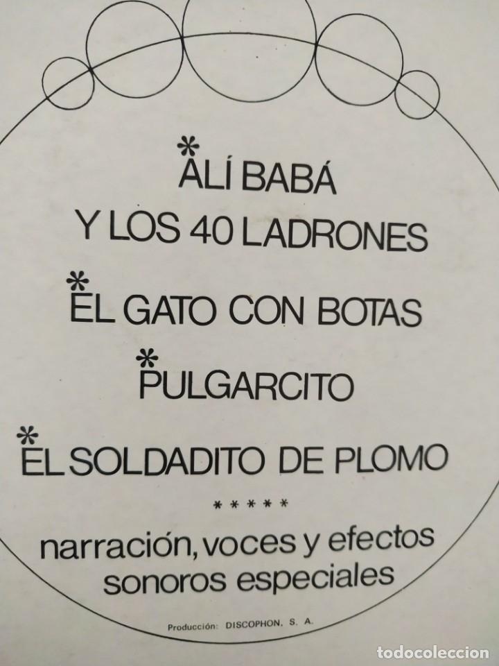 Discos de vinilo: CUENTOS INFANTILES - ALI BA BA / DISCOPHON 1967 / BUEN ESTADO - Foto 3 - 166903768