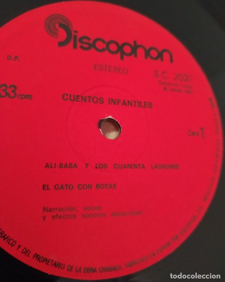 Discos de vinilo: CUENTOS INFANTILES - ALI BA BA / DISCOPHON 1967 / BUEN ESTADO - Foto 4 - 166903768