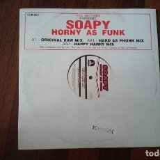 Dischi in vinile: SOAPY-HORNY AS FUNK.MAXI. Lote 166905384