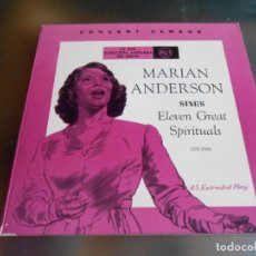 Discos de vinilo: MIRIAM ANDERSON - 2 EP -, EP, DEEP RIVER + 10, AÑO 1959. Lote 166915660