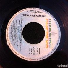 Discos de vinilo: SINGLE. ALASKA Y LOS PEGAMOIDES. BAILANDO. LA REBELIÓN DE LOS ELECTRODOMÉSTICOS 1982 (SIN CARPETA). Lote 166915684
