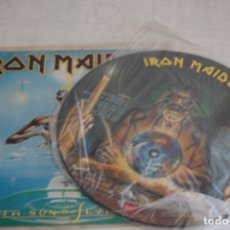 Discos de vinil: IRON MAIDEN - SEVENTH SON OF A SEVENTH SON 1988 PICTURE DISC LP. Lote 166916784