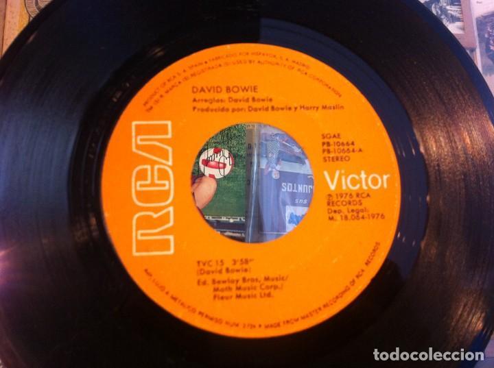SINGLE. DAVID BOWIE. WE ARE THE DEAD - TVC 15. 1976 (SIN CARPETA) (Música - Discos - Singles Vinilo - Otros estilos)
