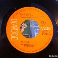 Discos de vinilo: SINGLE. DAVID BOWIE. WE ARE THE DEAD - TVC 15. 1976 (SIN CARPETA). Lote 166918236