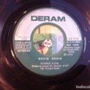 Discos de vinilo: SINGLE. DAVID BOWIE. THE LAUGHING GNOME - RUBBER BAND. 1973 (SIN CARPETA). Lote 166918736