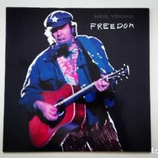 Discos de vinilo: NEIL YOUNG LP FREEDOM REPRISE RECORDS 1989 WX 257 925899-1. Lote 166922424