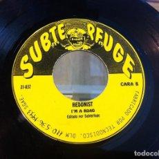 Discos de vinilo: SINGLE. AUSTRALIAN BLONDE, CHUP CHUP. HEDONIST, I'M A ROAD. 1993 (SIN CARPETA). Lote 166923956