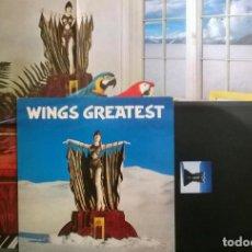 Discos de vinilo: THE WINGS. WINGS GREATEST. MPL, UK 1978 LP + ENCARTE + DOBLE POSTER (PCTC 256, 0C 066-61 963). Lote 166924796
