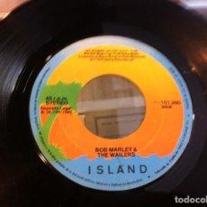 Discos de vinilo: SINGLE. BOB MARLEY & THE WAILERS. NO WOMAN NO CRY - BAD CARD. 1980 (SIN CARPETA). Lote 166925308
