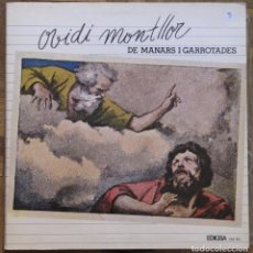 Discos de vinilo: OVIDI MONTLLOR. DE MANARS Y GARROTADES. EDIGSA, CM 426. GATEFOLD. 1977, ESPAÑA. FUNDA EX. DISCO EX.. Lote 166938640