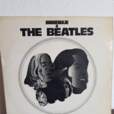 Discos de vinilo: HOMENAJE A THE BEATLES THE AMENDMENT 1973. Lote 166947062