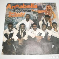 Discos de vinilo: SINGLE THE SOULFUL DYNAMICS. ANNABELLA. MR. REGGAEMAN. PHILIPS 1970 SPAIN (PROBADO Y BIEN). Lote 166961768