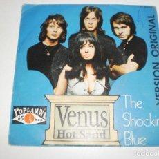 Discos de vinilo: SINGLE THE SOCKING BLUE. VENUS. HOT SAND. POP LANDIA 1969 SPAIN (PROBADO Y BIEN). Lote 166962536