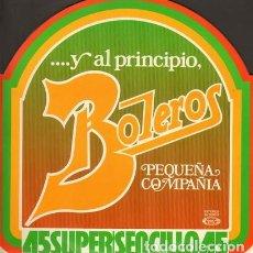 Discos de vinilo: PEQUEÑA COMPAÑÍA - BOLEROS (ESPAÑA, 1978). Lote 166965000