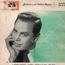 Disques de vinyle: HELMUT ZACHARIAS - IL NOSTRO CONCERTO / KALINKA / AMOUR JE TE DOIS / TRES JOLIE. Lote 166973148