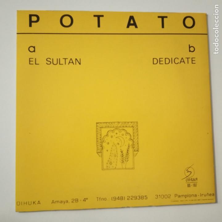 Discos de vinilo: POTATO- EL SULTAN - SINGLE 1990 - COMO NUEVO. - Foto 2 - 166973484